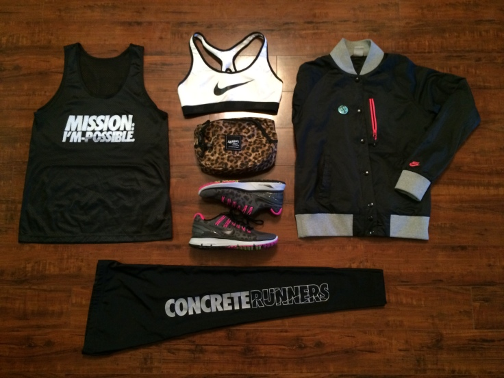 Concrete Runners x Roco Runs- in Nike Town- Fit Grid