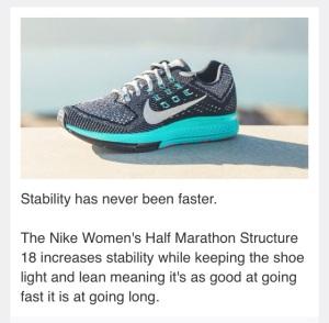 Nike Women's Half Marathon Structure 18