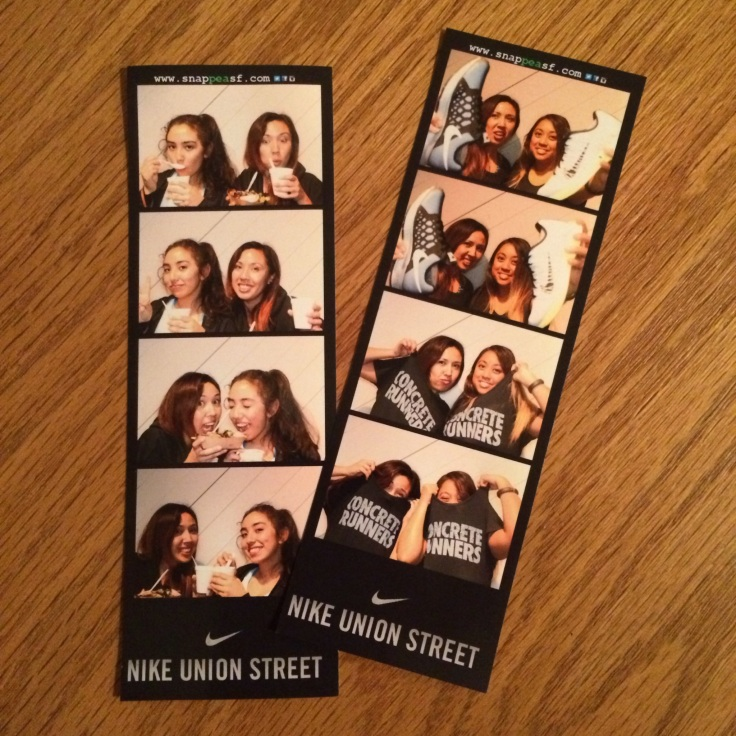 NTC Nike Union Street Photo Booth