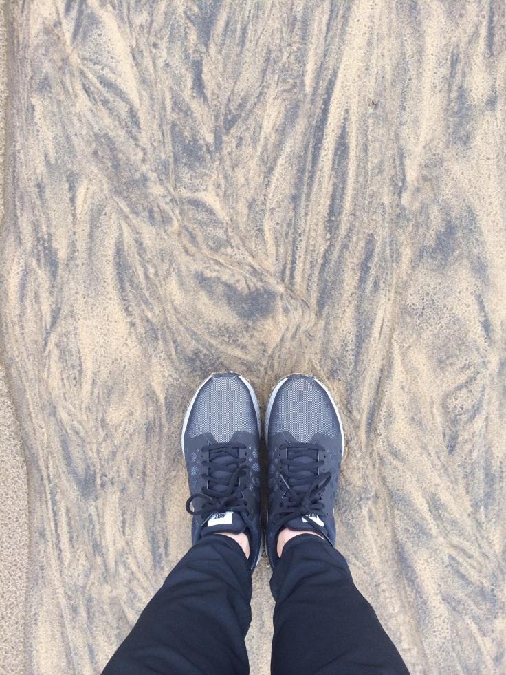lake tahoe run- sand