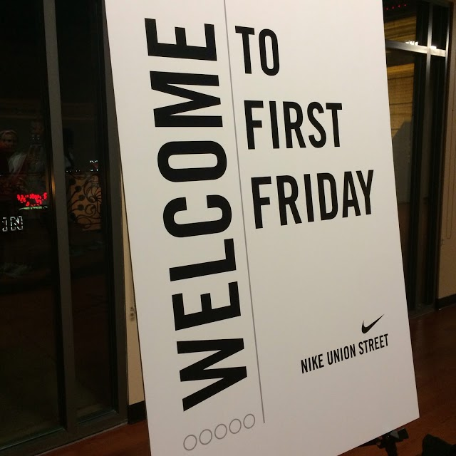 First Friday Sign