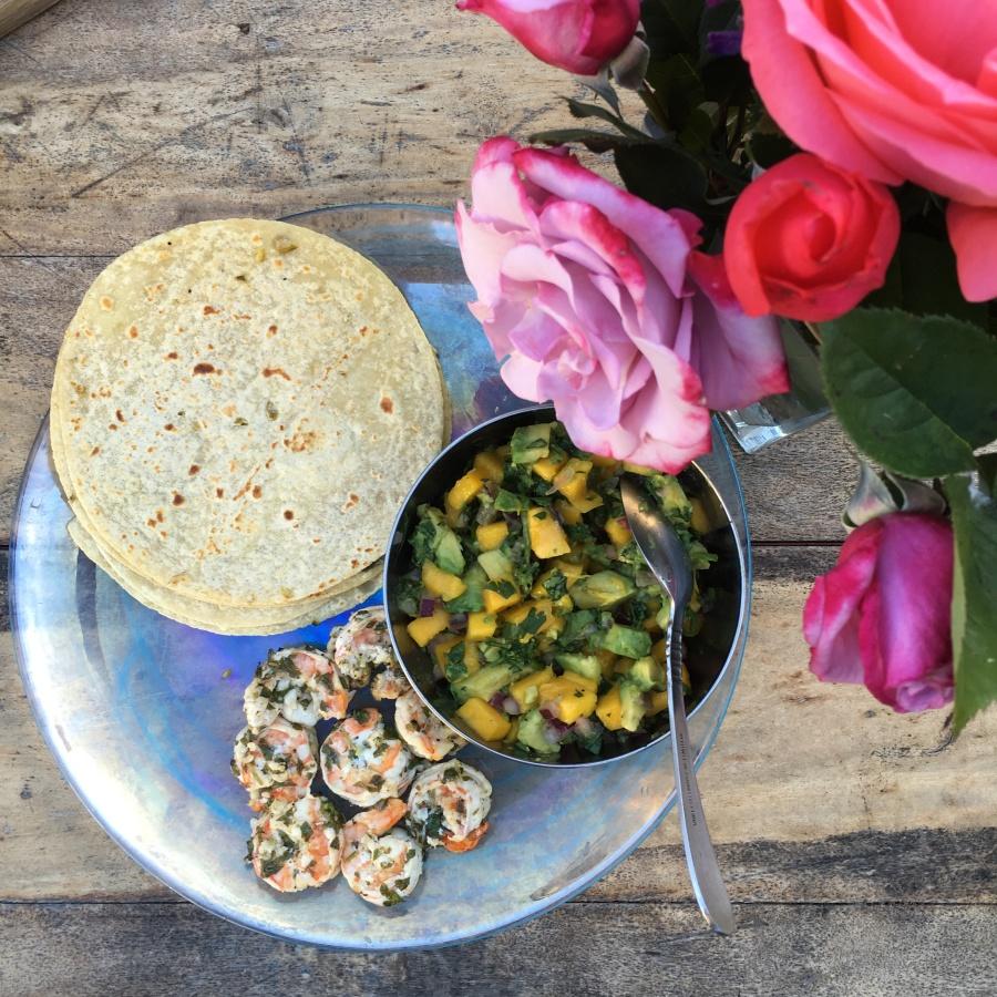 beaufitul my healthy dish shrimp scampi tacos recipe 4