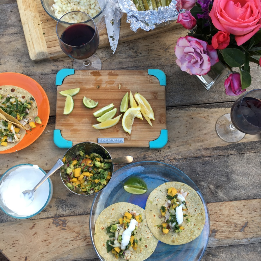 beaufitul my healthy dish shrimp scampi tacos recipe 5
