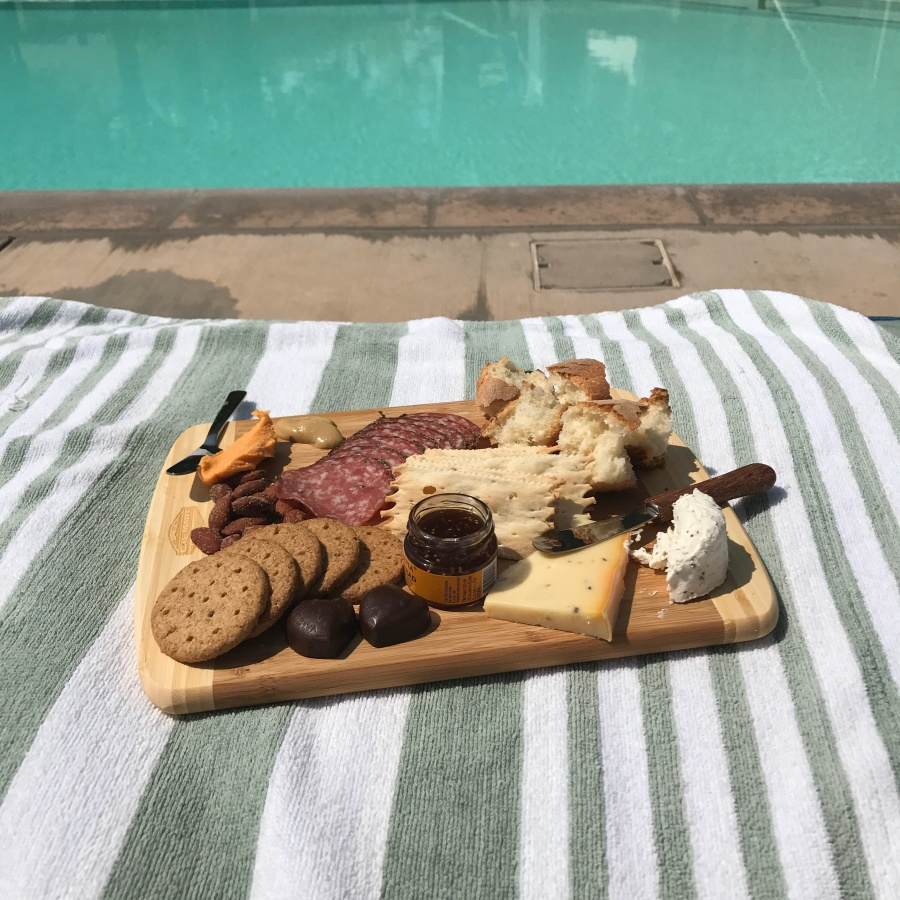 Calistoga Dining- Cal-Mart cheese plate