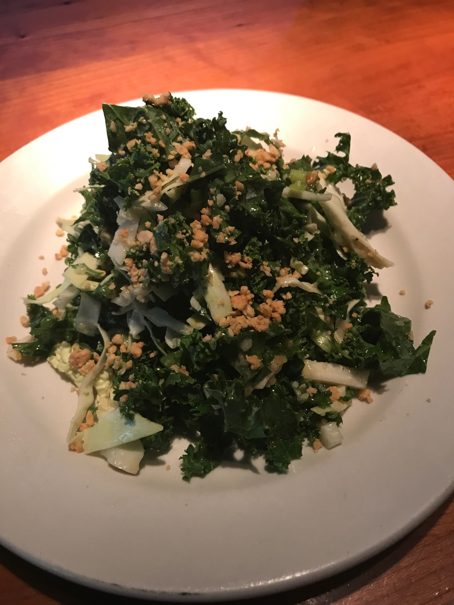 Calistoga Dining- Rutherford Grill kale salad