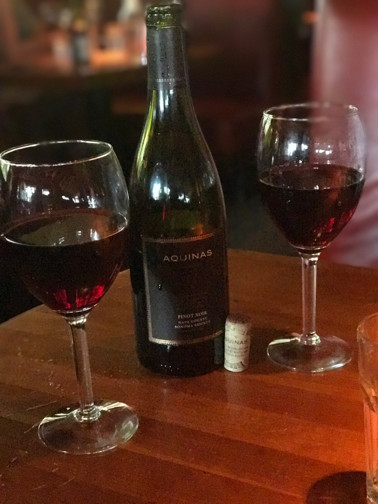 Calistoga Dining- Rutherford Grill wine