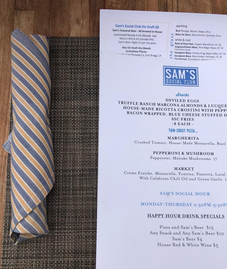 Calistoga Dining- Sam's Social Club menujpg