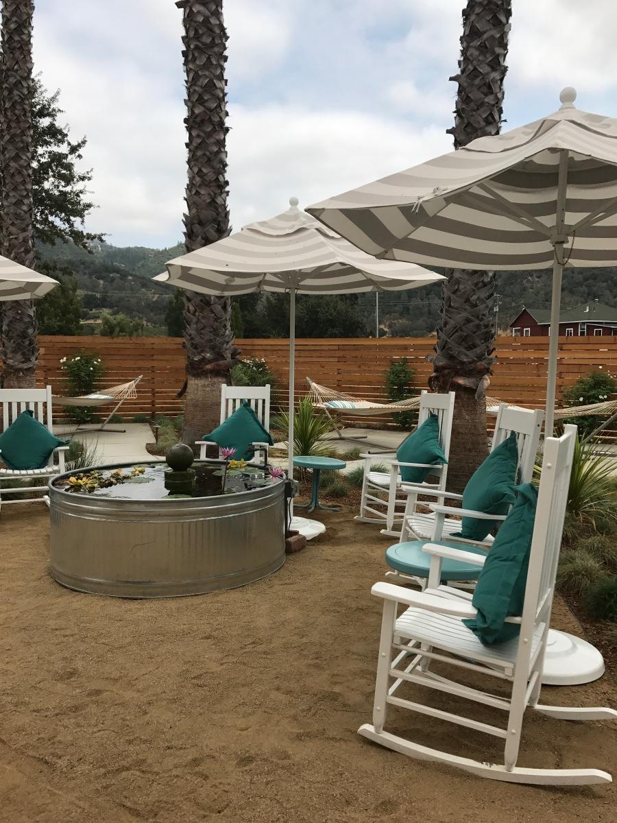 Moonacre Spa- garden